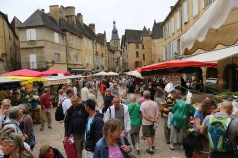 Market day in Sarlat le Caneda