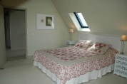 Upstairs double bed bedroom
